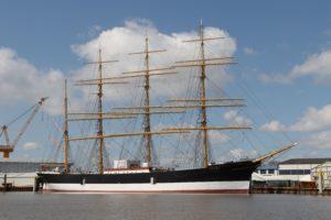 Das Segelschiff Peking